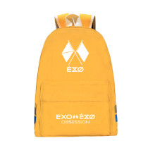 Kpop EXO Six Series BAEK HYUN CHAN YEOL Backpack Backpack Korean Casual Canvas Bag