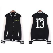 Kpop TXT Album Same Baseball Uniform Coat Top BEOMGYU HUENINGKAI SOOBIN TAEHYUN YEON JUN