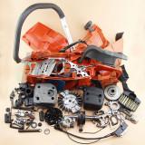 Reparação Completa HUSQVARNA 365 362 371 372P MOTOR MOTOR CRANKCASE CILINDRO PISTÃO MANIVELA CADEIRA FILTRO