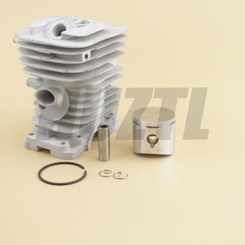 Husqvarna 136 137 141 142 38MM Cylinder Piston WT Ring Pin Circlip OEM# 530 06 99 40