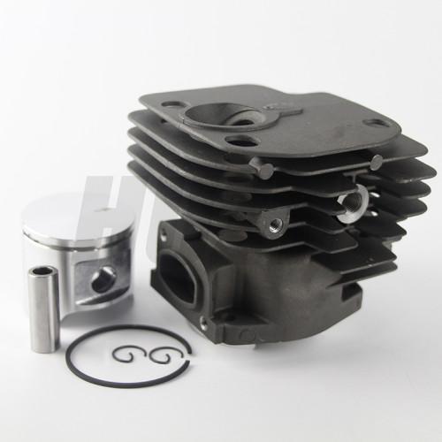 Husqvarna 362 365 371 372 48MM Cylinder Piston WT Ring Pin Circlip OEM# 503 69 10 73