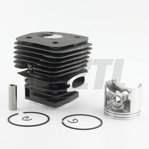 Husqvarna 395 58MM Big Bore Cylinder Piston WT Ring Pin Circlip OEM 503 99 39 71