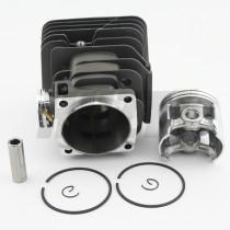 Husqvarna 395 58MM Cylindre à gros alésage Piston WT Bague à anneau Circlip OEM 503 99 39 71