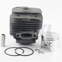 Husqvarna Partner K950 56MM Cylinder Piston WT Ring Pin Circlip OEM# 506 15 55 06