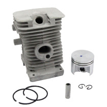 37mm Cylinder Piston Kit W/ Rings Pin for Stihl 017 MS170 Gasoline Chainsaw # 1130 020 1204