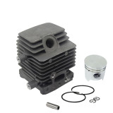 34mm Cylinder Piston Kit For STIHL FC75 FC85 FH75 FR85 FS75 FS80 FS85 HS75 HS80 HS85 HL75 HL75K HT70 HT75 KA85 KR85 KW85 SP81 SP85 REP# 4137 020 1202