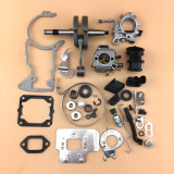 Complete Aftermarket Repair Parts For STIHL MS440 044 Chainsaw Engine Crankcase Gas Fuel Tank Ignition Coil Crankshaft Carburetor Cylinder Piston Recoil Starter Muffler Aftermarket Stihl MS 440 044 Parts