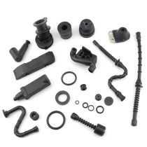 Annular Buffer Kit For Stihl 038 MS380 381 038MAGNUM Chainsaw A/V Mount Rubber Intake Manifold Fuel Oil Line