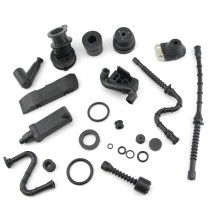 Annular Buffer Kit Compatible with Stihl 038 MS380 381 038MAGNUM Chainsaw A/V Mount Rubber Intake Manifold Fuel Oil Line