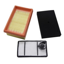 Air Filter Kit For Stihl Ts400 Rep# 4223 140 1800, 4223 141 0300, 4223 141 06011 (1 Pc Main Filter+1 Pc Secondary Filter+1 Pc Pre Cleaner Filter)