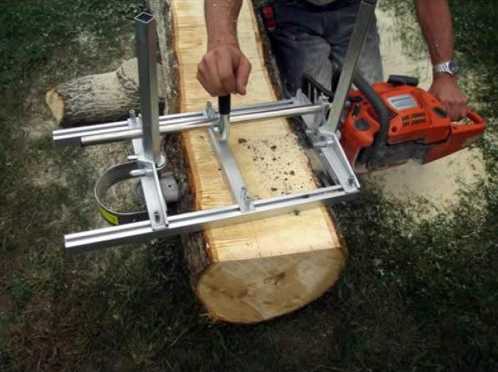 36 Inch Holzfforma® Portable Chainsaw Mill Planking Milling From 14''  to 36'' Guide Bar