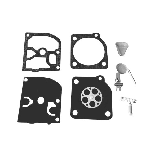 ZAMA RB-45 Carb Repair Diaphragm Kit For Husqvarna 55 51 49 45 Chainsaw 240R 245R Carburetor Jonsered 2041 2045 2050 RS44 Partner 400 410 450 460 490 510 C1Q-EL1 Zama C1Q-EL5 C1Q-EL5A C1Q-EL6 C1Q-EL7 C1Q-EL10 C1Q-M43 & WY Series