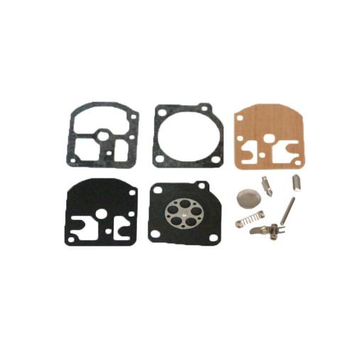 Carburetor Repair Gasket Kit For Stihl FS160 FS220 FS280 Trimmer ZAMA W18  W18A  W24 C1S-S3 C1S-S3A C1S-S3B C1S-S3C C1S-S3D C1S-S3E C1S-S3F C1S-S3G C1S-SK1 C1S-SK2 Carb Rebuild Diaphragm Kit # ZAMA RB-13