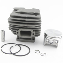 52mm Cylinder Piston Kit Compatible with Stihl 038 Magnum MS380 Chainsaw 1119 020 1202 With Pin Ring Circlip
