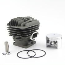 Big Bore 54MM Cylinder Piston Kit Compatible with Stihl 046 MS460 Chainsaw 1128 020 1221 With Pin Ring Circlip