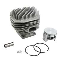 50MM Cylinder Piston Kit For Stihl 044 MS440 Chainsaw 1128 020 1227 With Pin Ring Circlip ( Without Decomp.Port)