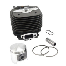 58mm Cylinder Piston Kit Compatible with Stihl 070 090 Chainsaw 1106 020 1202 With Pin Ring Circlip