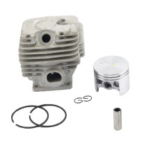 52mm Cylinder Piston Kit Compatible with Stihl MS381 Chainsaw OEM# 1119 020 1204