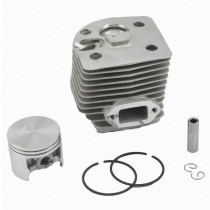46MM Cylinder Piston Kit Compatible with FS550 FS420 FS420L F550L Brushcutter OEM# 4116 020 1215