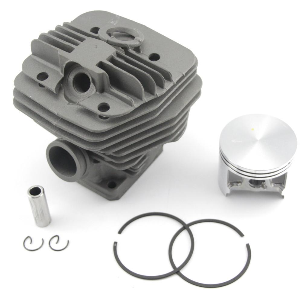 Kit de aslosi/ón de pist/ón 1110-030-2002 para STIHL Motosierra 041 Ring Set Pin Clip 041 FB G AV bore 44MM Motor Engine Engine