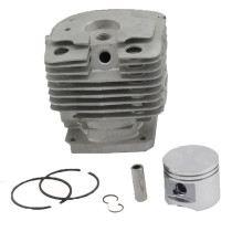 44MM Cylinder Piston Kit Compatible with Stihl FS400 FS450 FS480 SP400 FR450 Trimmer # 4128 020 1202 WT Ring