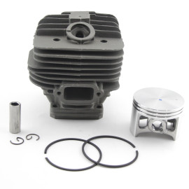 Big Bore 56mm Cylinder Piston Kit Compatível com Stihl 066 MS660 Motosserra 1122 020 1209 Com Pin Ring Circlip