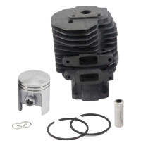 44MM Cylinder Piston Kit Compatible with Stihl 041 041AV 041FB 041G FS20 FS410 Chainsaw 1110 020 1203 With Pin Ring Circlip