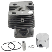 Aftermarket Stihl FS120 FS200 FS200R FS020 FS202 TS200 FS250 FS250R BT120 BT121 HT250 Cylinder Piston Kit 38mm With Pin Ring Circlip 4134 020 1212