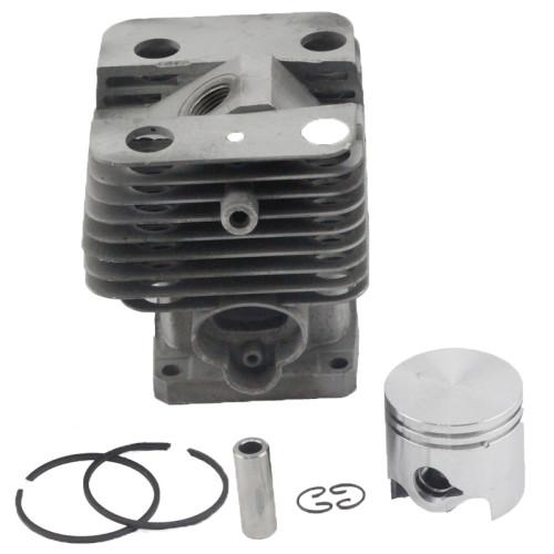 Aftermarket Stihl FS120 FS200 FS200R FS020 FS202 TS200 FS250 FS250R BT120 BT121 HT250 Cylinder Piston Kit 38mm With Pin Ring Circlip 4134 020 1212