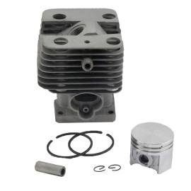 Aftermarket Stihl FS120 FS200 FS250 FS120R FS200R FS020 FS202 FS250R TS200 BT120 BT121 BT250 Cylinder Piston Kit 35mm With Pin Ring Circlip 4134 020 1213