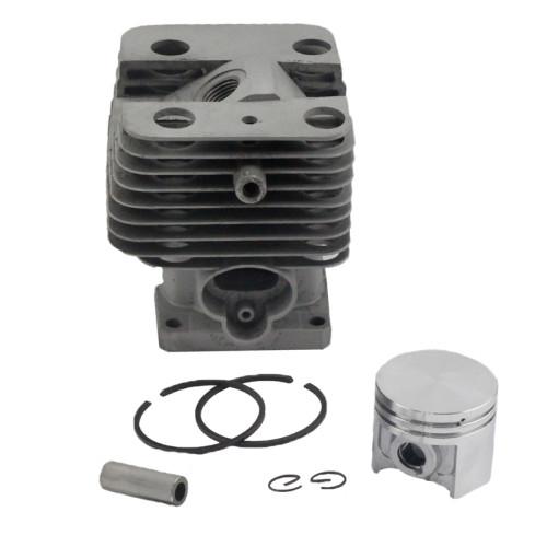 Aftermarket Stihl FS120 FS200 FS250 FS120R FS200R FS020 FS202 FS250R TS200 BT120 BT121 BT250 Cylinder Piston Kit 35mm With Pin Ring Circlip 4134 020 1213