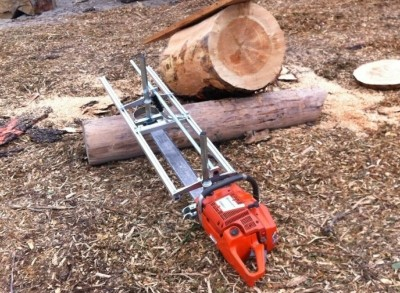 48 Inch Holzfforma® Chainsaw Mill Planking Milling From 18'' to 48'' Guide Bar