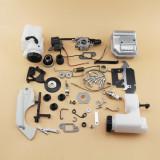 Pièces de réparation complètes pour STIHL MS180 018 Moteur de carter moteur Vilebrequin Carburateur Cylindre de réservoir de carburant Bobine d'allumage à piston