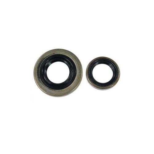 Crankcase Crankshaft Oil Seal Seals (13.5x20x4, 15x29.6x4) For STIHL 046 MS460 and MAGNUM OEM# 9640 003 1355, 9640 003 1600