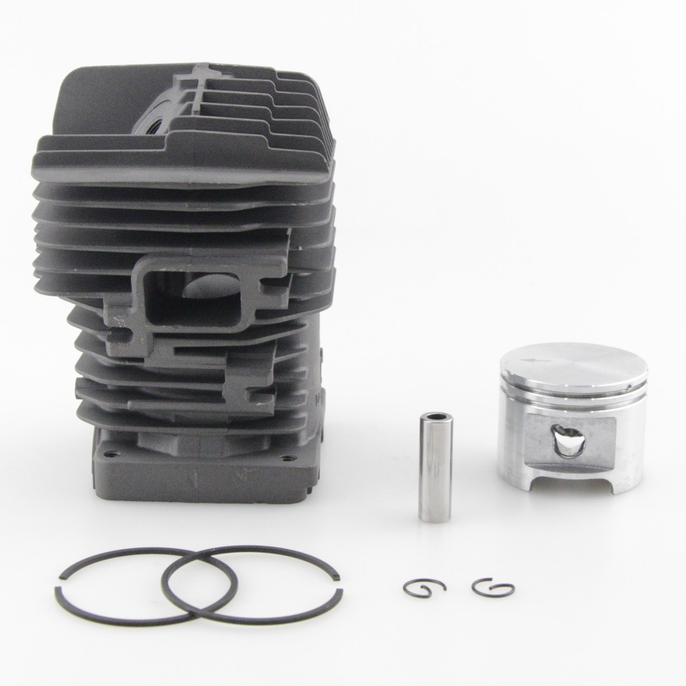 Cylinder Piston Carb Kit For Stihl MS310 MS 310 Chainsaw Bar Stud Nuts 47mm Bore