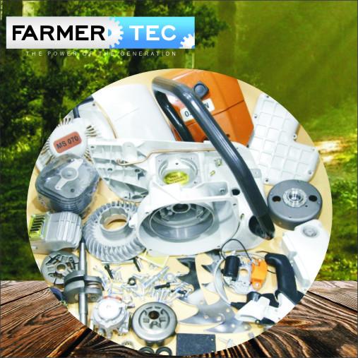 Completar as peças de reparo para Stihl 070 090 Motosserra Motor Crankcase Crankshaft Cilindro Pistão Cadeia Pinhão Cobre Silenciador Carburador Handle Bar