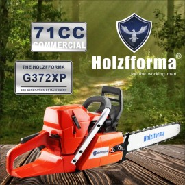 71cc Holzfforma® G372XP Gasoline Chain Saw Power Head 50mm Bore Without Guide Bar and Chain Top Quality By Farmertec All Parts Are Compatible With Husqvarna 372XP Chainsaw