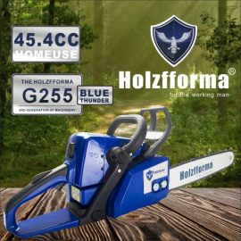 45.4cc Holzfforma® Blue Thunder G255 Gasoline Chain Saw Power Head Only Without Guide Bar and Saw Chain All Parts Are Compatible With MS250 MS230 MS210 025 023 025 Chainsaw