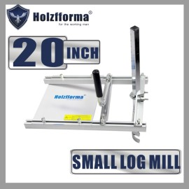 20 Inch (50cm) Holzfforma® Small Log Mill Planking Milling From 14'' to 20'' Guide Bar