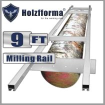 9FT Genuine Holzfforma® Milling Rail System, Milling Guide Set Works with all 20/24/36/48 inch Small Chainsaw mills