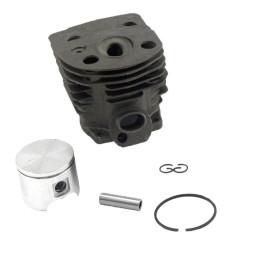 Husqvarna 51 55 46MM Piston de cylindre WT Anneau Axe Circlip OEM # 503 60 91 71