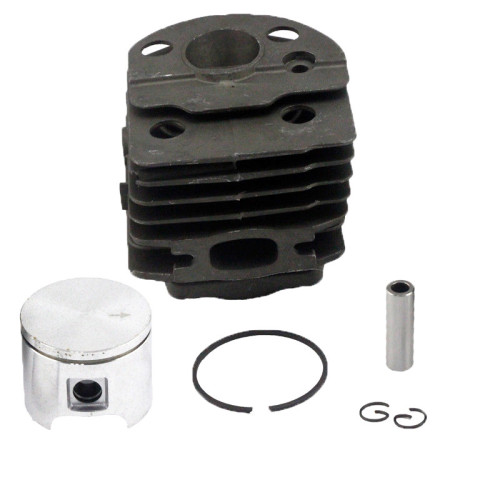 Husqvarna 51 55 46MM Cylinder Piston WT Ring Pin Circlip OEM# 503 60 91 71