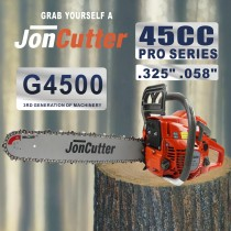 45cc JonCutter Home Use Gasoline Chainsaw Power Head Sem corrente de serra e barra de guia