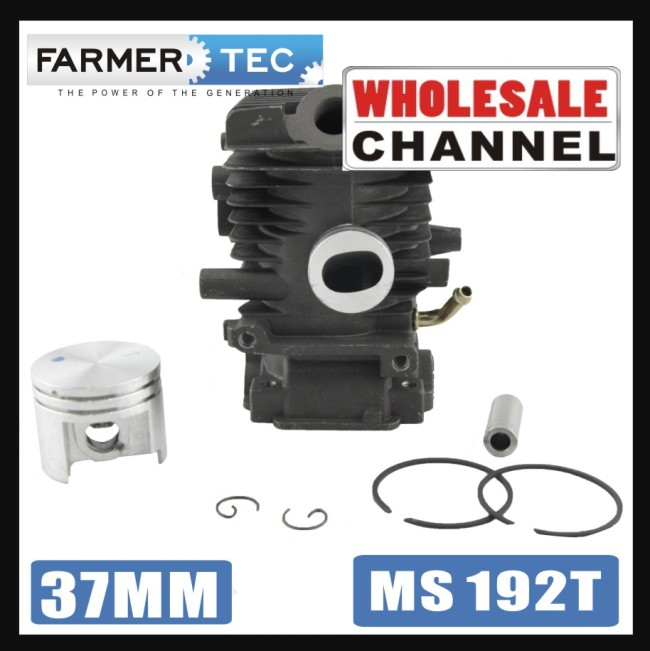 37mm Cylinder Piston Kit For Stihl MS192T Chainsaw 1137 020 1203//1137//020//1201