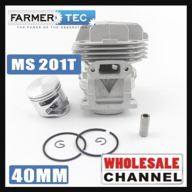 Farmertec® 20 Cylinder Kits Bulk Order Cylinder Kit for Stihl MS201 MS 201C MS201T (40mm) # 1145 020 1200