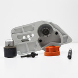 One set of Drill Kit Compatible with STIHL 017 018 021 023 025 MS170 MS180 MS210 MS230 MS250 With 6 Tooth Sprocket Drum