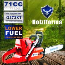 71cc Holzfforma® G372XT Benzinkettensäge-Antriebskopf Geringerer Kraftstoffverbrauch 50mm Bohrung ohne Führungsschiene und Kette Top-Qualität von Farmertec Alle Teile sind mit der H372X TORQ-Kettensäge kompatibel