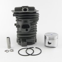 38mm Cylinder Piston WT Ring para Oleo Mac 937 GS370 Efco 137 Motosierra 50182005A