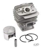 48mm Cylinder Piston Kit For Stihl 034 036 MS360 MS340 Chainsaw 1125 020 1215 With Pin Ring Circlip ( With Decom.Port)