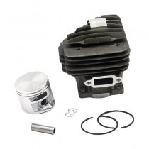44.7MM Cylinder Piston Kit per Stihl MS261 Chainsaw 1141 020 1200 Con anello di sicurezza Anello di sicurezza